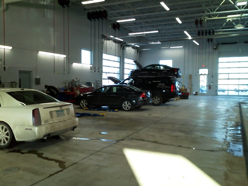 14 new Rotary Inground Smart Lifts at Walser Chevrolet, Buick ...