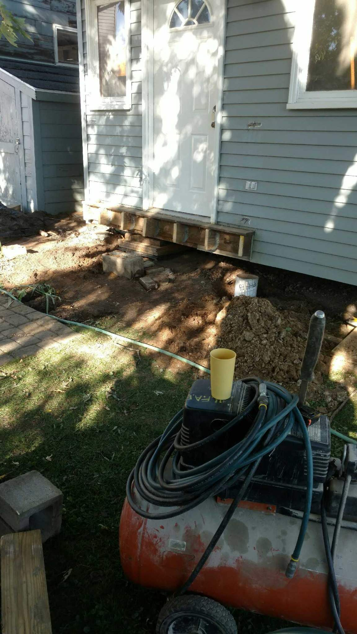 Shed Project 9 29 16 And 10 4 16
